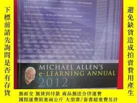 二手書博民逛書店Michael罕見Allen s 2012 E-Learning