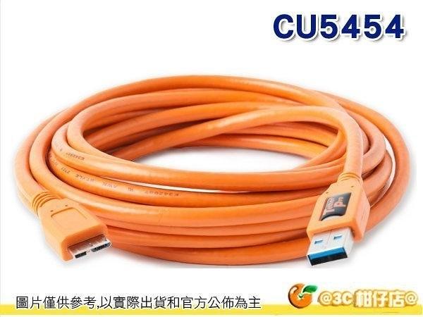 @3C 柑仔店@ Tether Tools CU5454 USB轉Micro USB3.0傳輸線 專業聯機拍攝線 公司貨