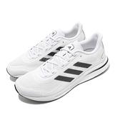 adidas 慢跑鞋 Supernova M 白 黑 男鞋 Boost Bounce 混合中底 運動鞋【ACS】 FV6026
