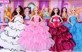 芭比娃娃5D音樂眨眼換裝套裝超大禮盒公主女孩玩具洋娃娃別墅城堡