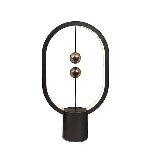 荷蘭 allocacoc Heng衡LED燈 mini 橢圓 桌燈 黑色/粉紅色 / 台 HBLPR-03