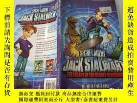 二手書博民逛書店Jack罕見Stalwart: The Escape Of The Deadly Dinosaur 傑克·斯泰沃特