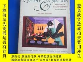 二手書博民逛書店a罕見people and a nation brief edition 《人民與國家簡報》Y172244