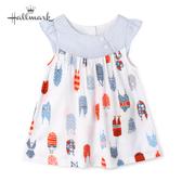 Hallmark Babies 竹系列夏日時光春夏女嬰短袖洋裝 HH1-F73-02-BG-MB