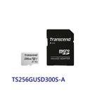 新風尚潮流 創見 記憶卡 【TS256GUSD300S-2】 256GB Micro-SD 含 Mini-SD 轉卡套件 五年保固 MicroSD TF
