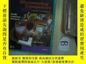 二手書博民逛書店Discovering罕見computers 2007 發現計算
