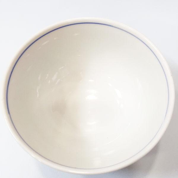 【震撼精品百貨】Hello Kitty 凱蒂貓~九谷燒陶瓷碗-梅花圖案/橘色