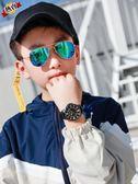 手錶 男學生兒童中學生初中生男孩男童小孩子防水運動電子錶指針式