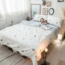 童話星球 S3單人床包與雙人兩用被三件組 100%精梳棉 台灣製 棉床本舖