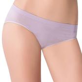 思薇爾-無痕美人系列M-XL素面低腰三角褲(迷霧紫)