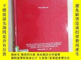 二手書博民逛書店英文書罕見RESIDUE REVIEWS VOLUME80 精裝