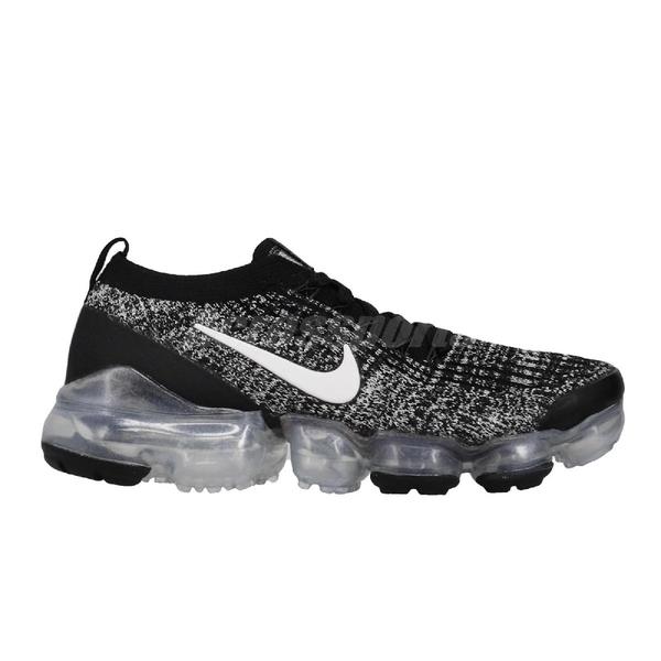 Nike 慢跑鞋 Wmns Air Vapormax Flyknit 3 黑 白 女鞋 運動鞋 【ACS】 AJ6910-001