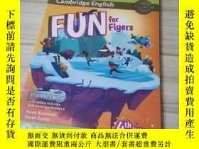 二手書博民逛書店YLE劍橋少兒英語三級考試教材書罕見練習冊共2本小學進階Fun for Flyers Student s Book