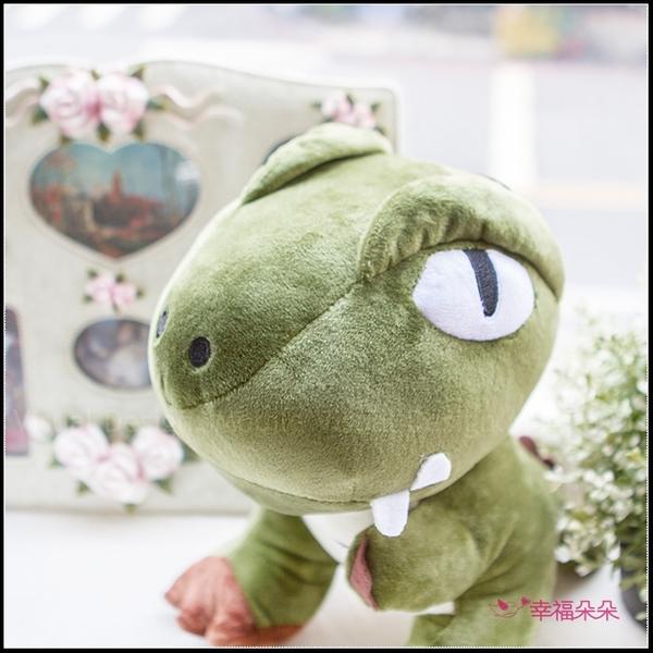 禮物 小恐龍抱枕(25X30cm) 娃娃 玩具 暴龍寶寶 生日禮物 小男生禮物 聖誕禮物 畢業禮物