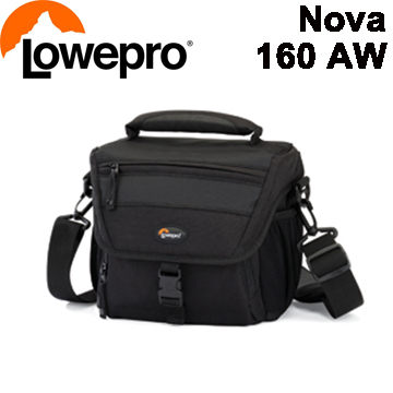 LOWEPRO 羅普 Nova 160 AW 新星 160AW 專業單肩背包 黑 (立福公司貨)