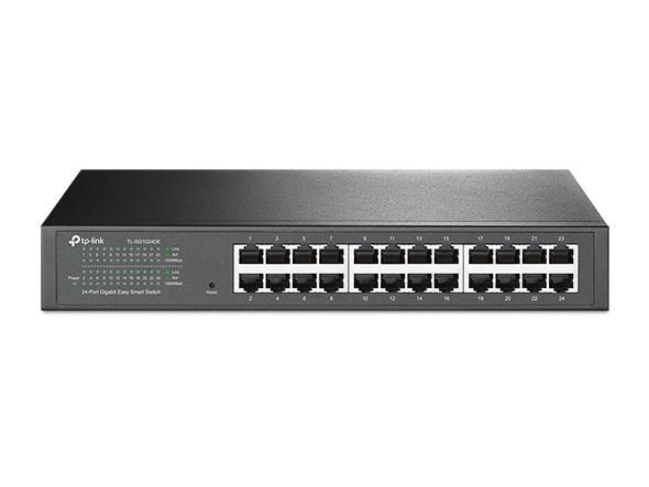 TP-LINK TL-SG1024DE(UN) 24-Port Gigabit Switch 簡易智慧型網路交換器