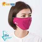 UV100 防曬 抗UV-涼感活性碳防塵口罩-舒適透氣