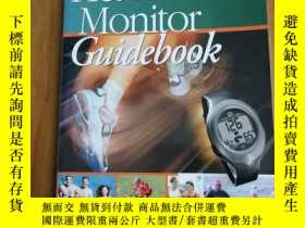 二手書博民逛書店Heart罕見Rate Monitor Guidebook 心率