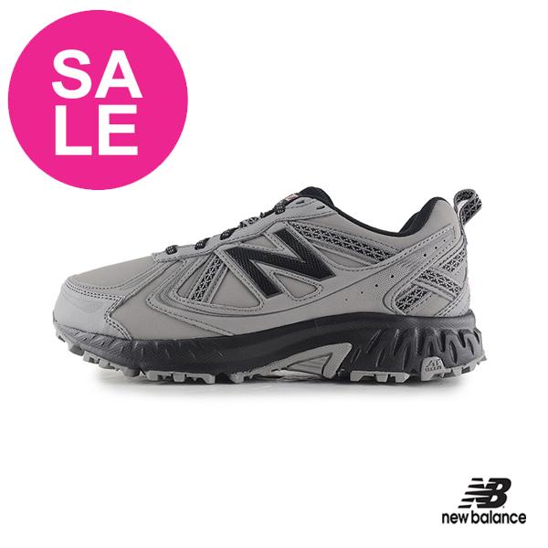 【出清下殺】New Balance 410 成人男款 戶外越野跑鞋 慢跑鞋 運動鞋 P8448#灰色◆奧森