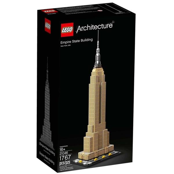 LEGO 樂高 Archi 建築系列 Empire State Building 帝國大廈 21046