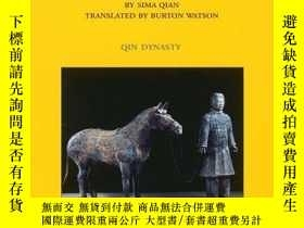 二手書博民逛書店Records罕見of the Grand Historian: Qin Dynasty 史記:秦朝【精裝】Y