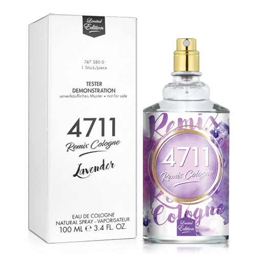 No.4711 Remix Cologne Lavender經典薰衣草古龍水-Tester(100ml)★ZZshopping購物網★