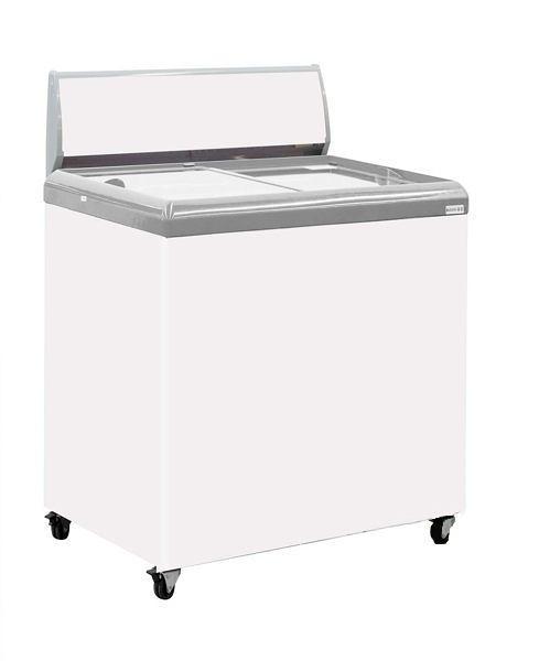«0利率/免運費»HiRON海容 2尺4 玻璃推拉冷凍櫃 SD-200【南霸天電器百貨】