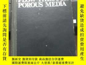 二手書博民逛書店【英文原版】孔隙介質中的流動FLOW罕見THROUGH POROUS MEDLAY20525 JIANTU J