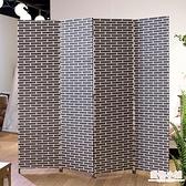 屏風 屏風隔斷客廳現代簡約 簡易折疊屏風玄關墻 中式實木移動酒店折屏 店慶降價