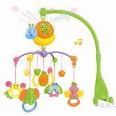 新生嬰兒玩具0-3個月益智床頭鈴女寶寶6個月男孩床鈴音樂旋轉搖鈴WY 【聖誕交換禮物】