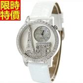 鑽錶-百搭優質時尚女腕錶10色5j35【巴黎精品】