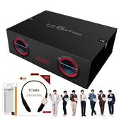 【內含LG藍牙耳機HBS-510+保護套+保貼+BTS磁鐵】LG G7+ ThinQ BTS音箱禮盒