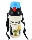 【卡漫城】星際大戰彈跳式480cc 水壺㊣版旅行杯 製原力烘碗機可Star Wars 黑武士白武士