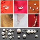 釦子 珍珠別針紐扣大衣風衣西服西裝胸針外套裝飾扣子衣服百搭鈕扣配件 瑪麗蘇