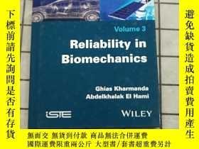 二手書博民逛書店Reliability罕見In Biomechanics [Wiley生物工程] 進口原版 Y268220 K