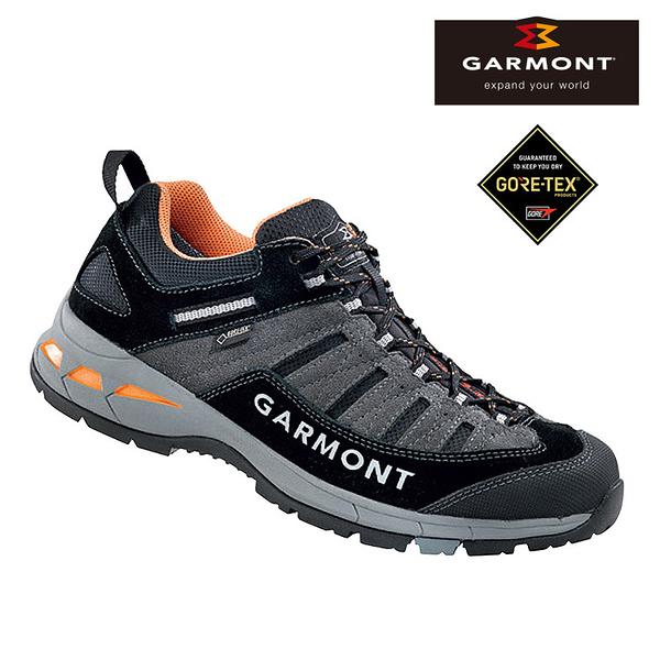 GARMONT 男款 Gore-Tex低筒疾行健走鞋TRAIL BEAST 481207/217 / 城市綠洲 (防水透氣、黃金大底、步道健行)