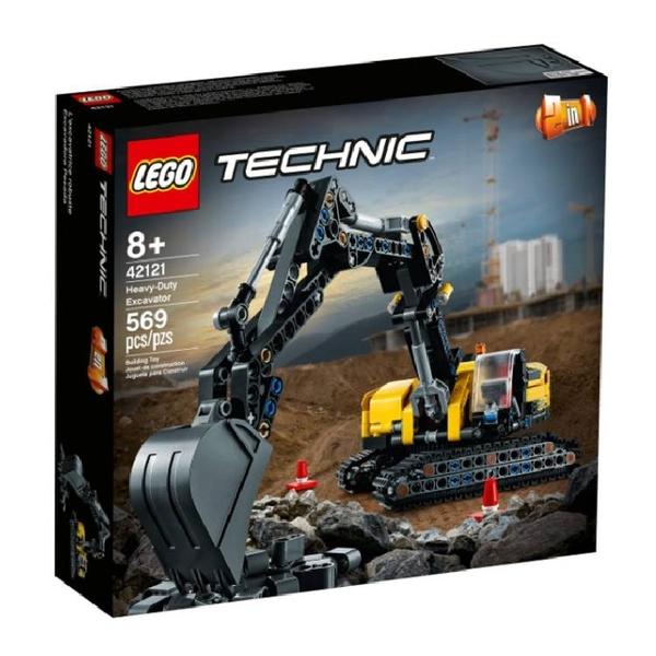 42121【LEGO 樂高積木】Technic 科技系列 - 重型挖土機