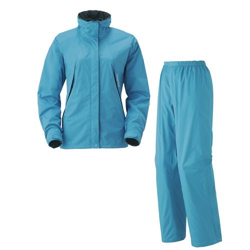 [好也戶外]mont-bell HDBR Rain Wear 女款風雨衣褲/松石藍 No.1128298-TQ