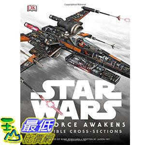[美國直購] 美國暢銷書 星際大戰 Star Wars: The Force Awakens Incredible Cross-Sections