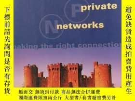 二手書博民逛書店英文原版罕見virtual private networks m
