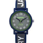 【台南 時代鐘錶 Superdry極度乾燥】美式和風 文化衝擊潮流腕錶 Campus系列 SYG196E 38mm