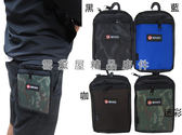 ~雪黛屋~BIYATI 腰包5.5吋手機MIT穿過皮帶隨身物品外掛固定專用防水尼龍布二層拉鍊主袋口#6348