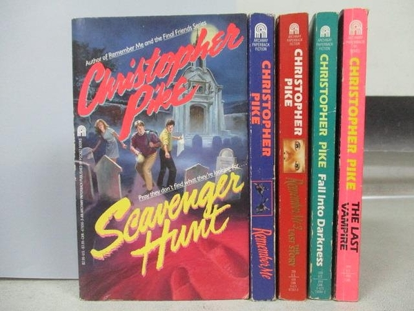 【書寶二手書T2/原文小說_MOY】Christopher Pike-Scavenger Hunt_The Last V