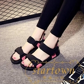 夏季涼鞋女外穿沙灘鞋學生平底防滑百搭潮流【繁星小鎮】