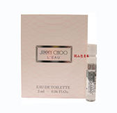 岡山戀香水~JIMMY CHOO L'EAU 戀曲 女性淡香水2ml~優惠價:60元