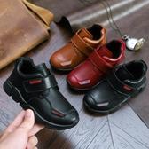 4到11歲10男童鞋9秋季8小學生7男孩6休閒皮鞋5秋冬保暖棉鞋子 夢幻衣都