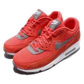 【六折特賣】Nike 休閒慢跑鞋 Wmns Air Max 90 橘 灰 白底 運動鞋 女鞋【PUMP306】 325213-801