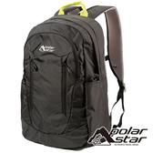 【PolarStar】休閒透氣背包 22L『黑色』P19802 露營.戶外.旅遊.登山背包.後背包.肩背包.手提包.行李包