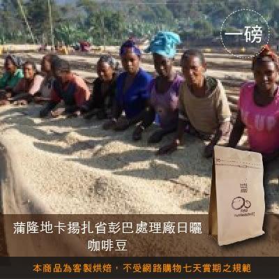 【咖啡綠商號】蒲隆地卡揚扎省彭巴處理廠日曬咖啡豆(一磅)