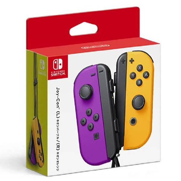 任天堂 Switch主機 NS Joy-Con 左右手控制器 紫橘 手把 臺灣公司貨 現貨